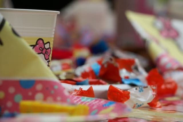 Kindergeburtstagsfeier mit Süßigkeiten im Erlebnispark Gevelsberg