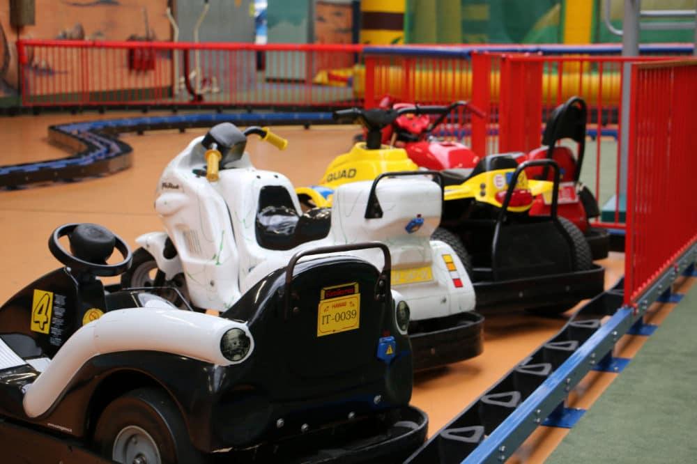 Fuhrpark Elektrofahrzeuge im Erlebnispark Gevelsberg