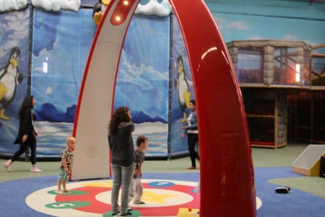 Interaktiver Tanz- und Spielbogen im Erlebnispark Gevelsberg